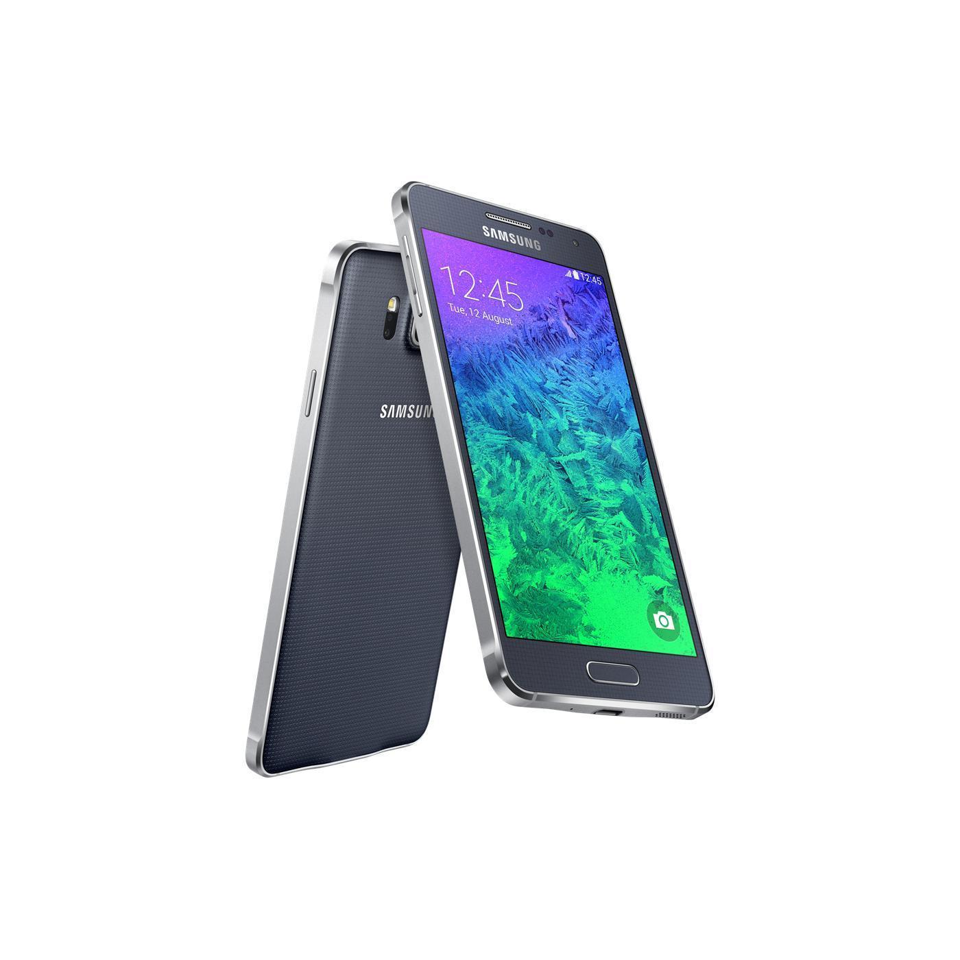 Samsung Galaxy Alpha 32 Go - Noir - Débloqué