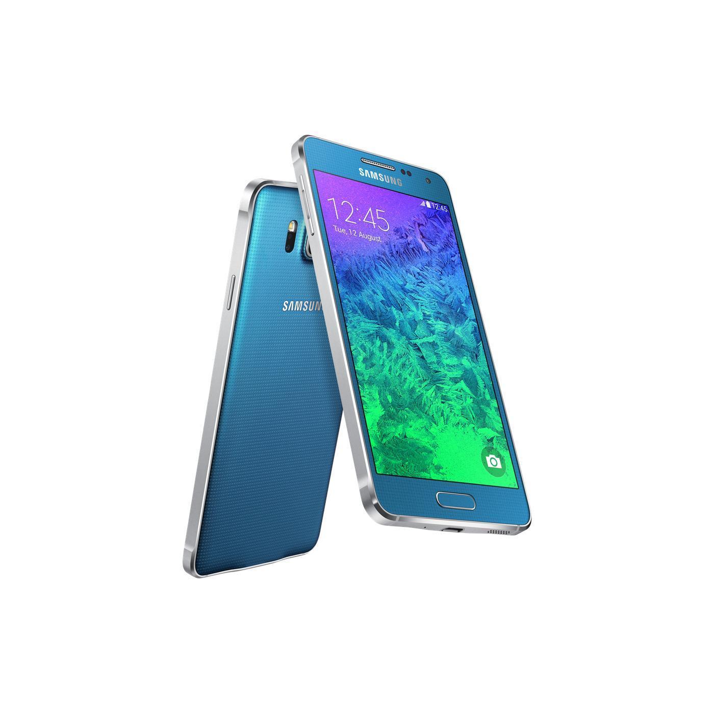 Samsung Galaxy Alpha 32 Go - Bleu - Débloqué