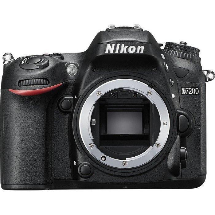 Nikon D7200 Gehäuse (VBA450AE)