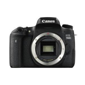Réflex - Canon EOS 760D Sin objetivo - Negro