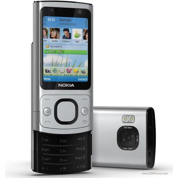 Nokia 6700 Slide - Gris - Débloqué