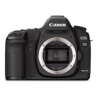 Hybrid Canon EOS 5D Mark II Vain Vartalo - Musta