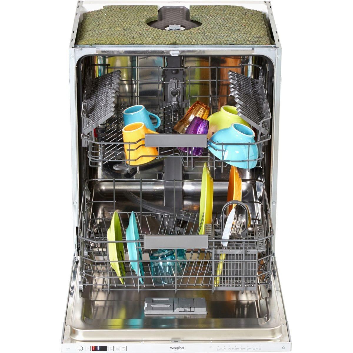 Lave-vaisselle encastrable 60 cm Whirlpool WKIC3C26 - 14 couverts