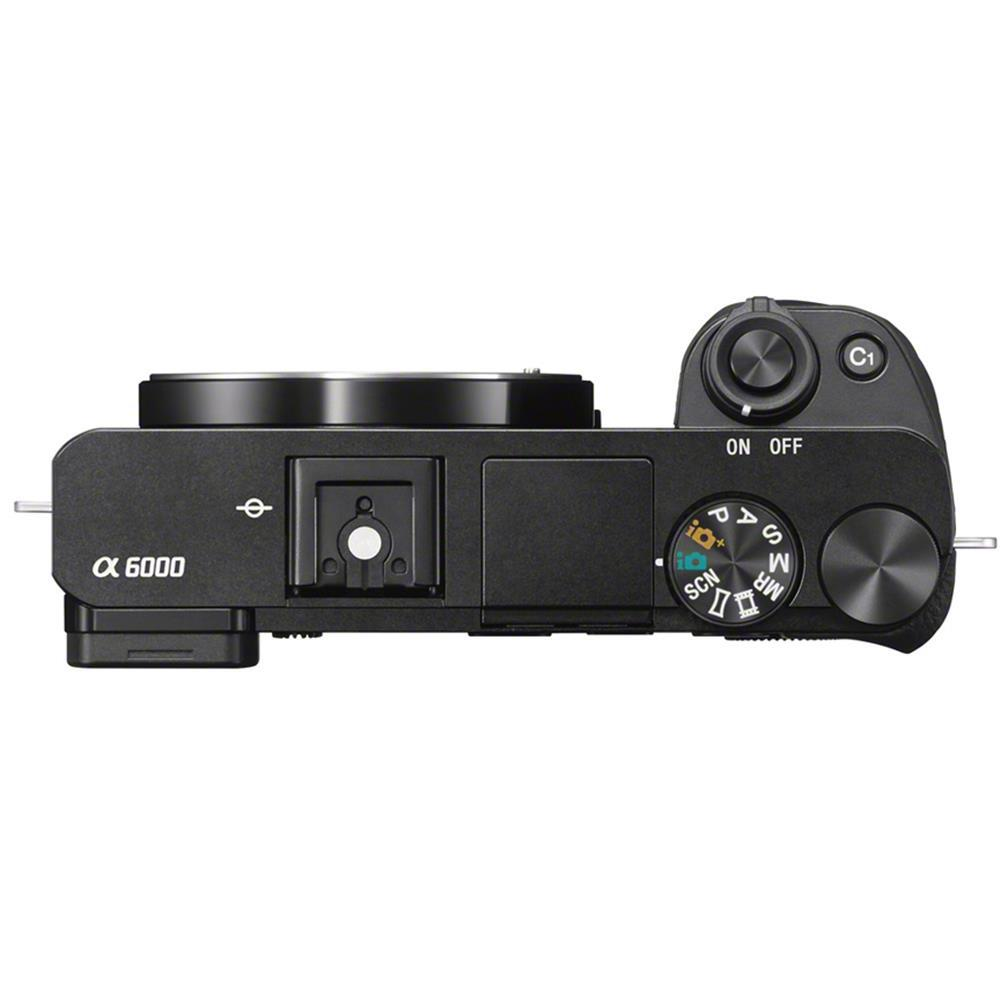 Hybride Sony a6000 - Zwart + Lens Sony E 16-50mm F3.5-5.6 PZ OSS