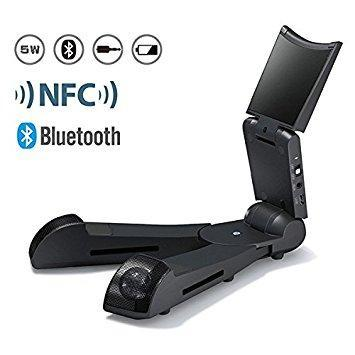 TabSeat Enceinte mobile 5W Bluetooth/NFC avec support pour tablette