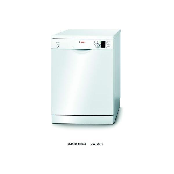 Lave-vaisselle BOSCH SMS50D52EU 12 couverts 60 x 84.5 x 60 cm