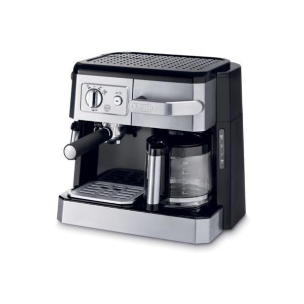 DELONGHI - Expresso combiné cafetière - BCO 420.1 finition métal