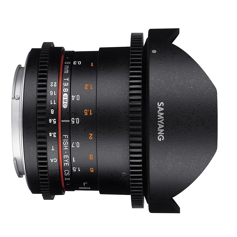 Objektívy Samyang Nikon 8mm f/3.8