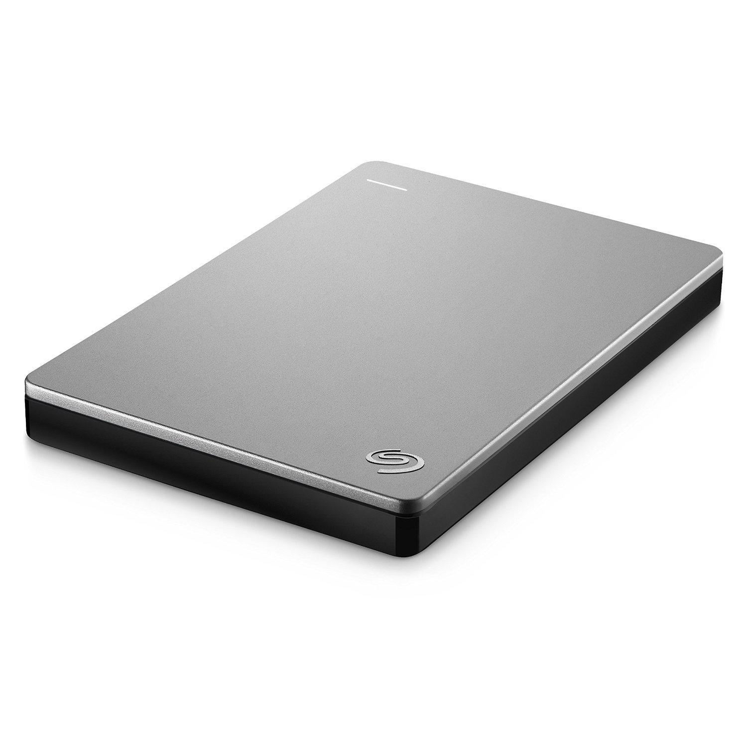 "SEAGATE Backup Plus Slim 1TB 2.5"" USB 3.0 - Gris"