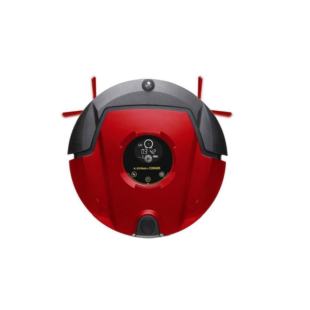 Aspirateur robot E.Zicom E.Ziclean Corner Red