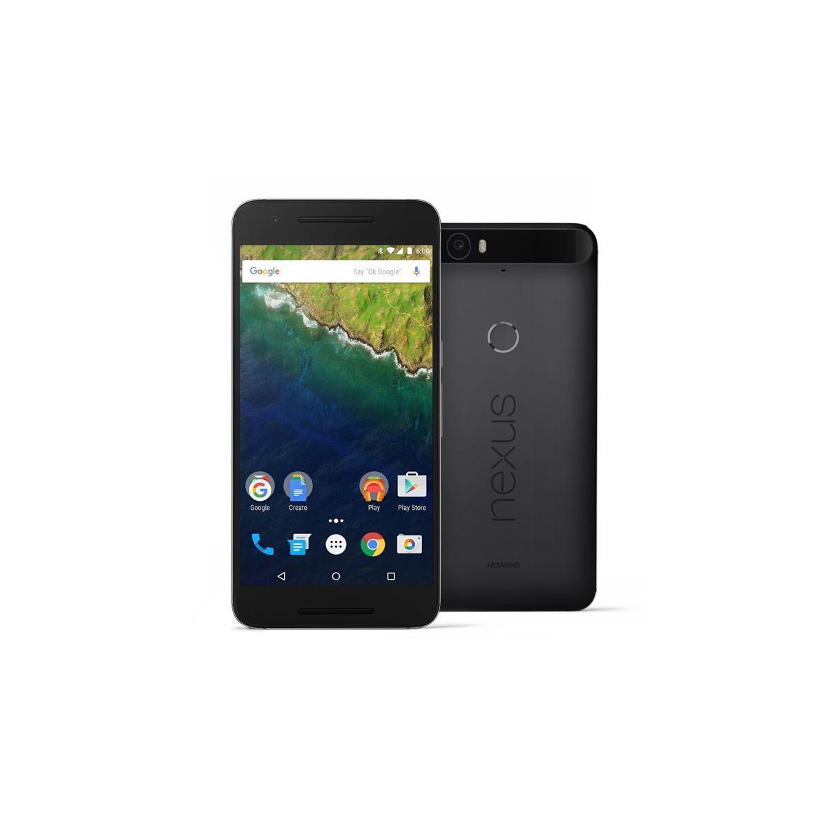 Huawei Nexus 6P 64 Go - Noir - Débloqué