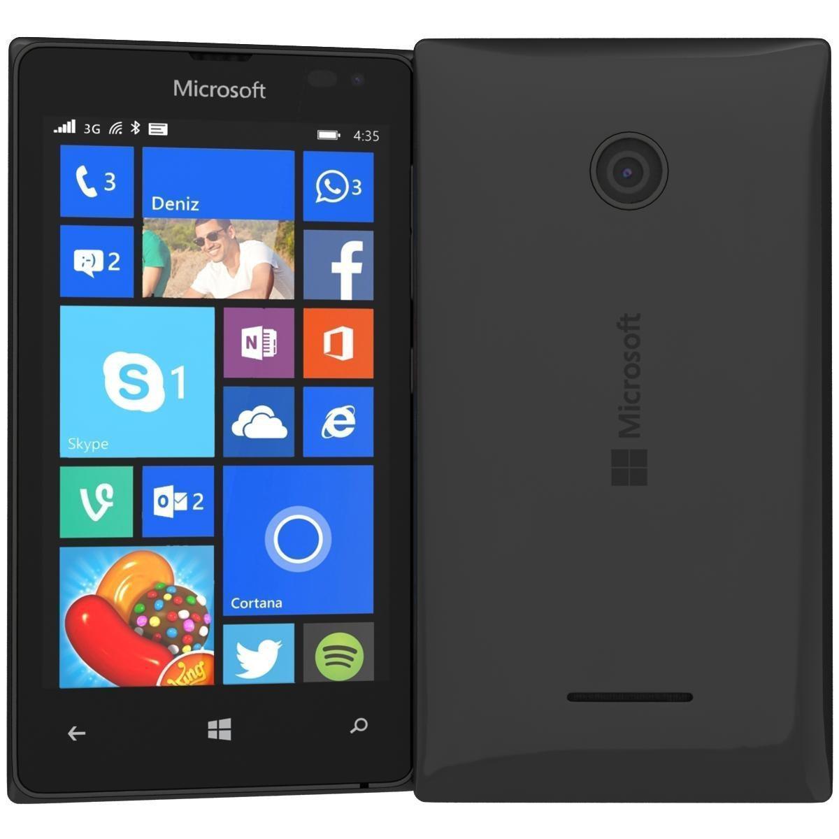 Microsoft Lumia 435 8 Go - Noir - Débloqué