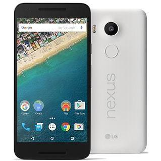 Nexus 5x 32 GB - Blanco - Libre
