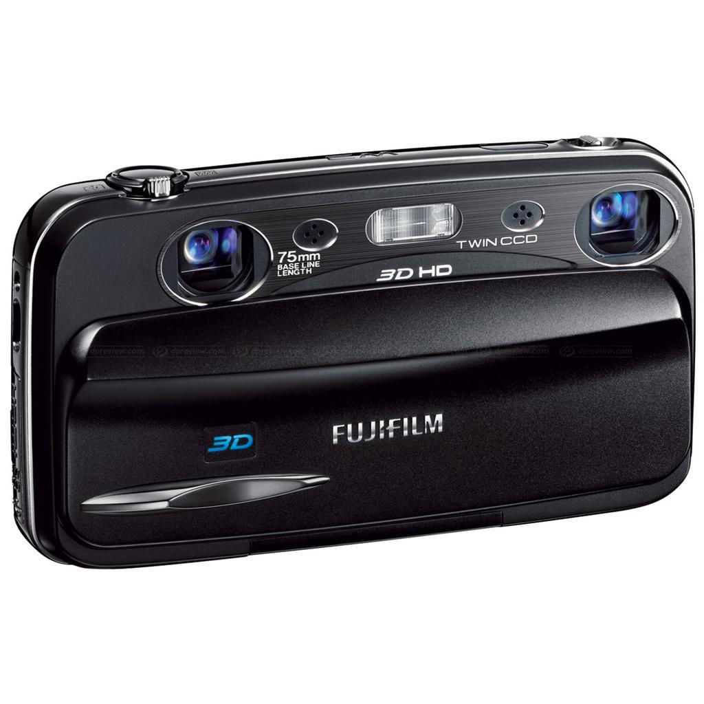 Fujifilm FinePix Real 3D W3 Compact 10Mpx - Black