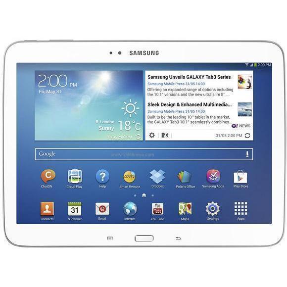 """Samsung Galaxy Tab 3 - 10,1"""" 16 Go -  - Blanc"""