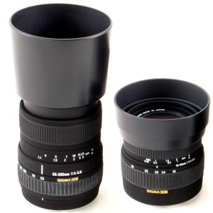 Objectif Sigma 18-55mm f/3.5-5.6