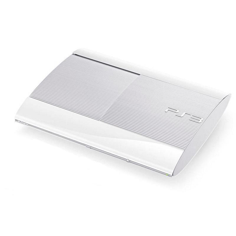 Sony PS3 Ultra Slim 500 Go - Blanche
