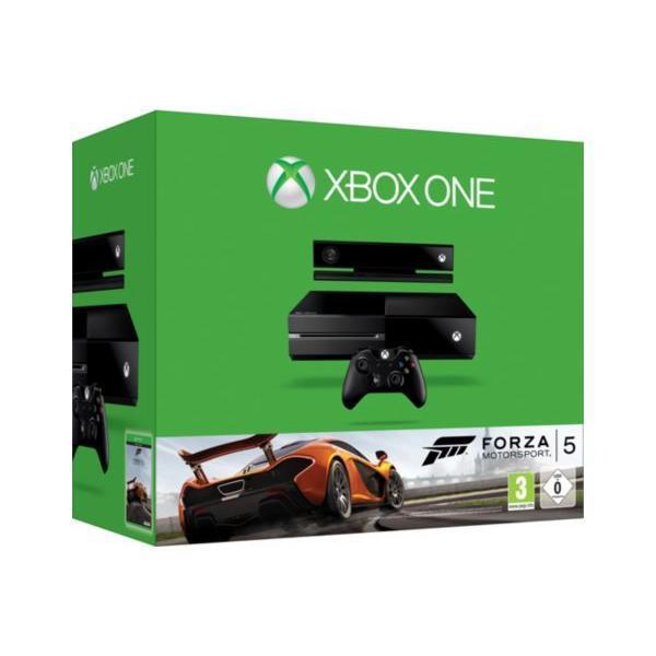 Pack - Microsoft Xbox One 500 Go + Forza 5 - Noir