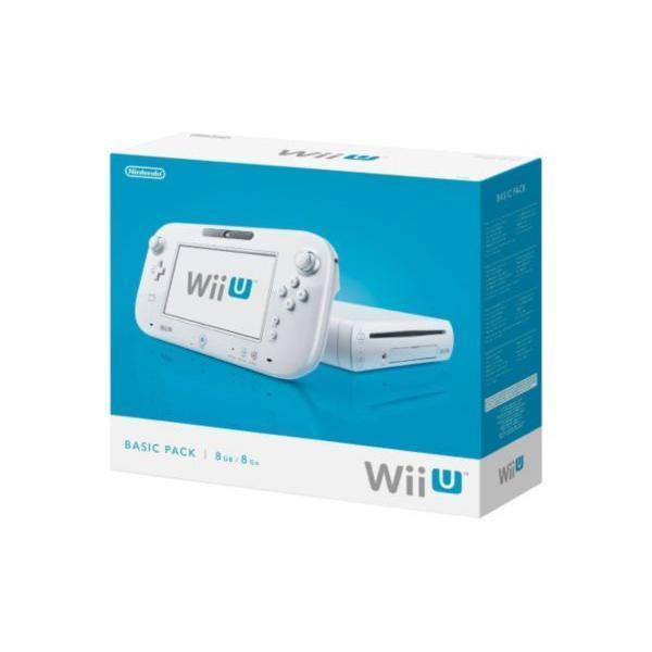 Nintendo Wii U Basic Pack 8 Go - Blanc