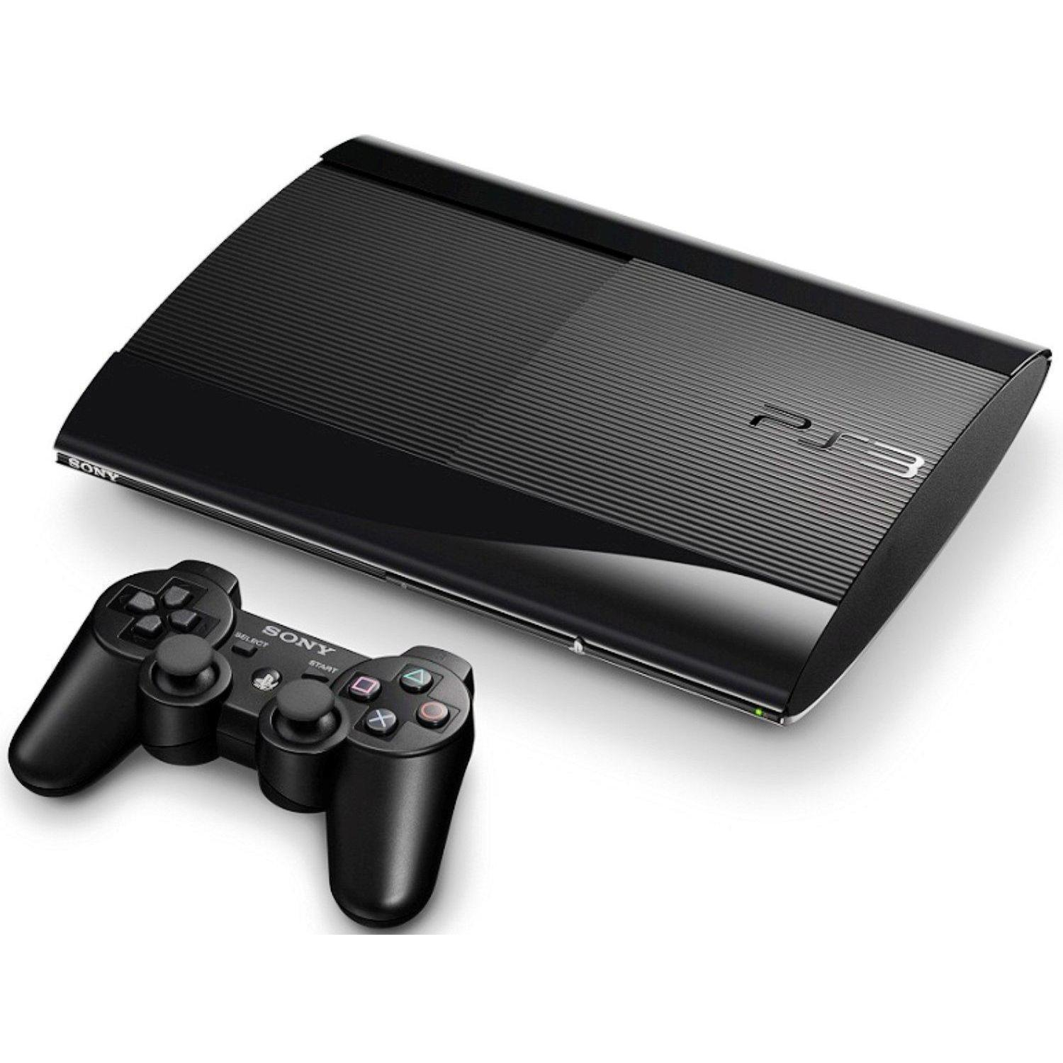 Sony Playstation 3 Ultra Slim 500 GB - Negro reacondicionado