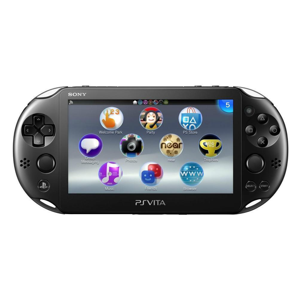 Sony PS Vita Slim 2000 + Carte mémoire 4 Go - Noir