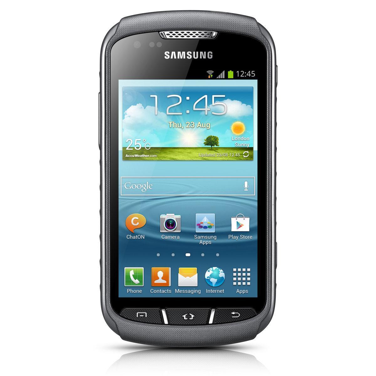 Samsung Galaxy Xcover 2 (GT-S7710) 4 Go - Gris - Débloqué