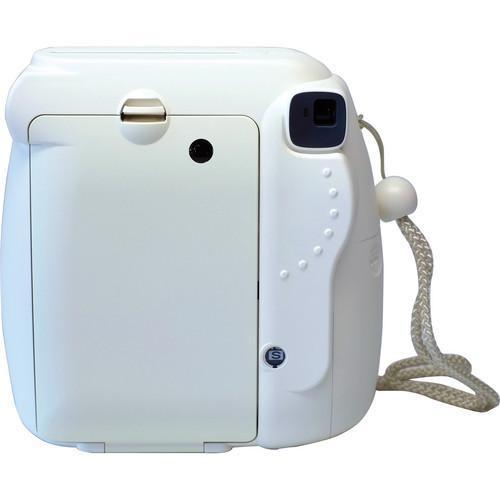 Instant Fujifilm Instax Mini 8 - Valkoinen + Objektiivi Fujifilm 60mm f/12.7