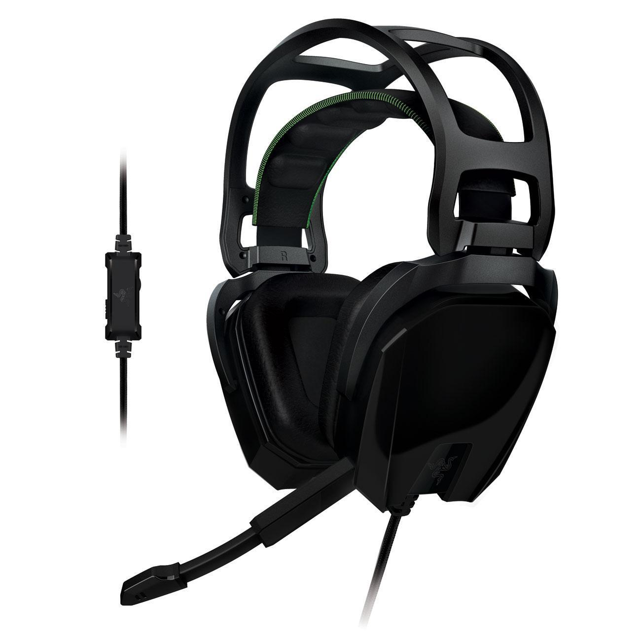casque gaming razer tiamat 2 2 noir reconditionn back market. Black Bedroom Furniture Sets. Home Design Ideas