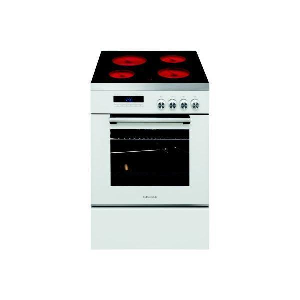 Cuisinière Vitrocéramique DE DIETRICH DCV1568W