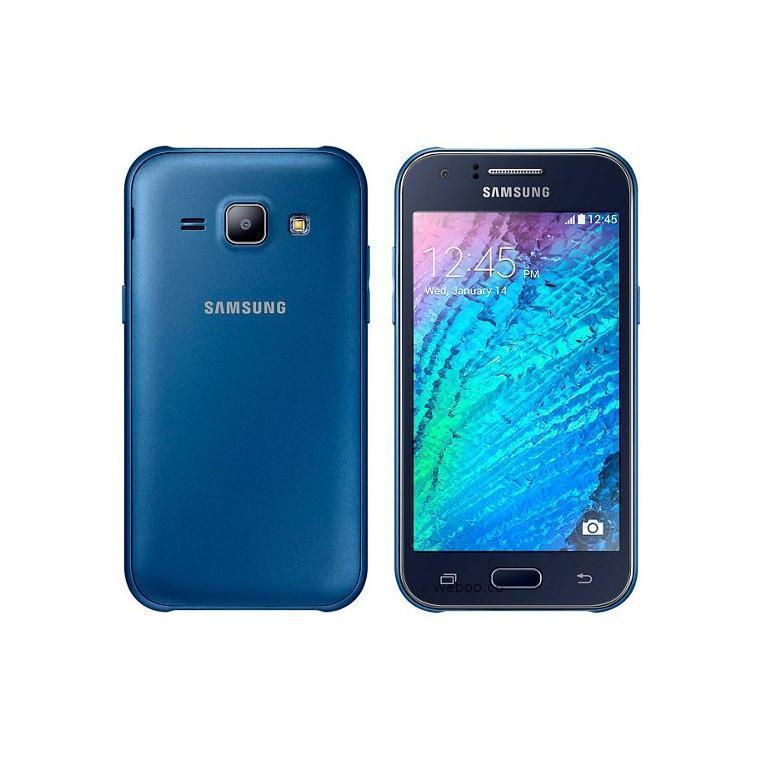 Samsung Galaxy J1 3G DS - 4 Go - Bleu - Débloqué