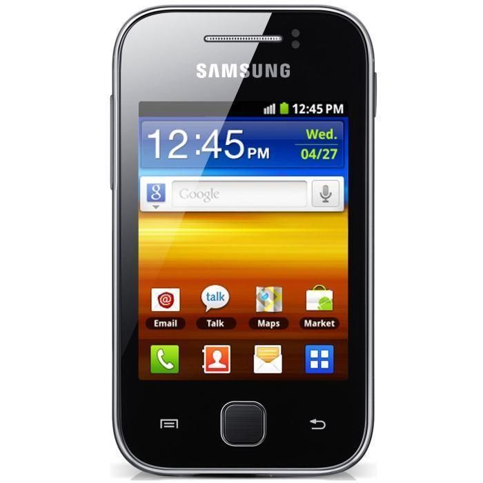 Samsung Galaxy Y - Noir - Débloqué