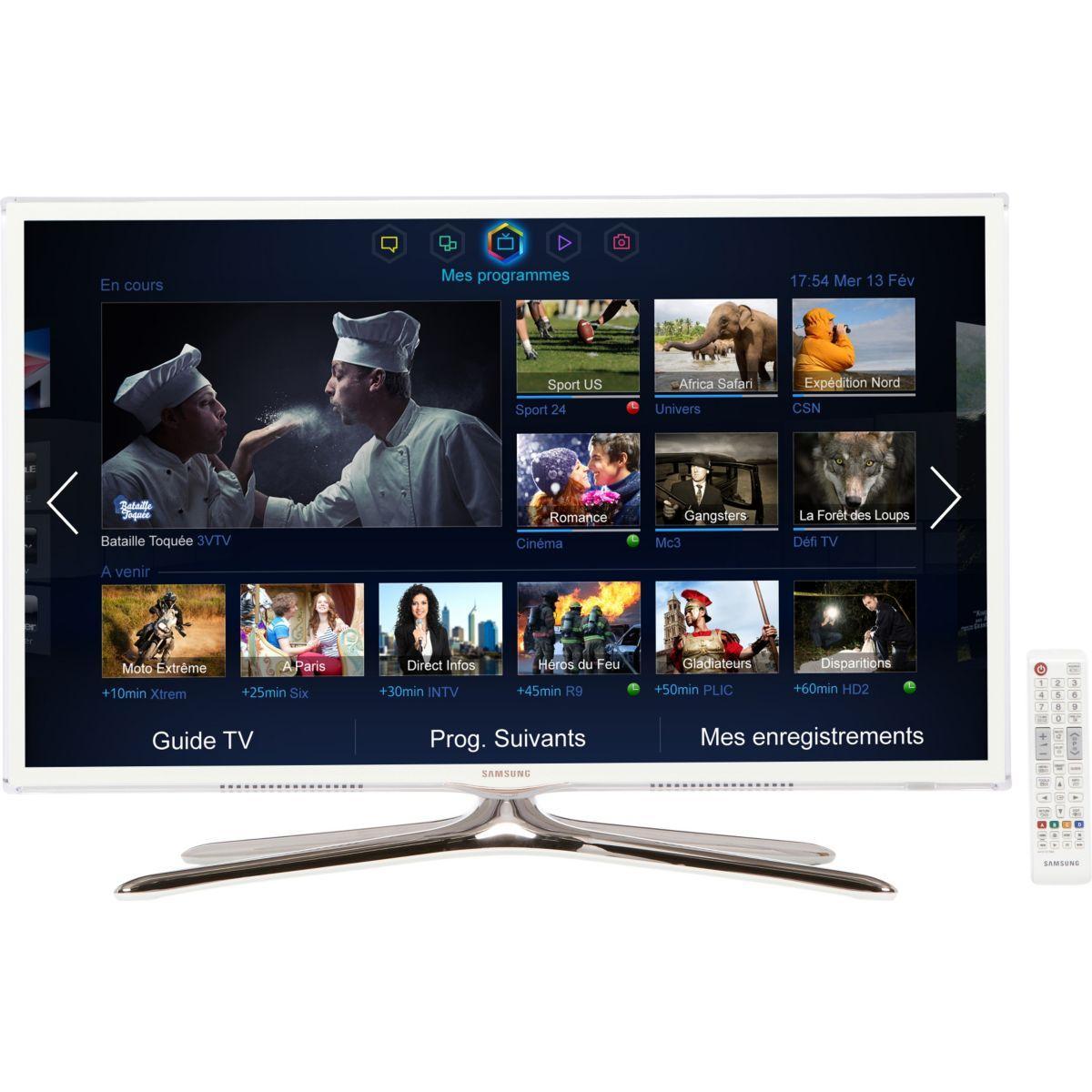 smart tv led 3d full hd 81 cm samsung ue32f6510. Black Bedroom Furniture Sets. Home Design Ideas