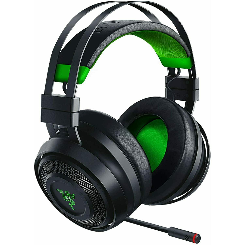 Slúchadlá Razer Thresher Ultimate Gaming Mikrofón - Čierna/Zelená