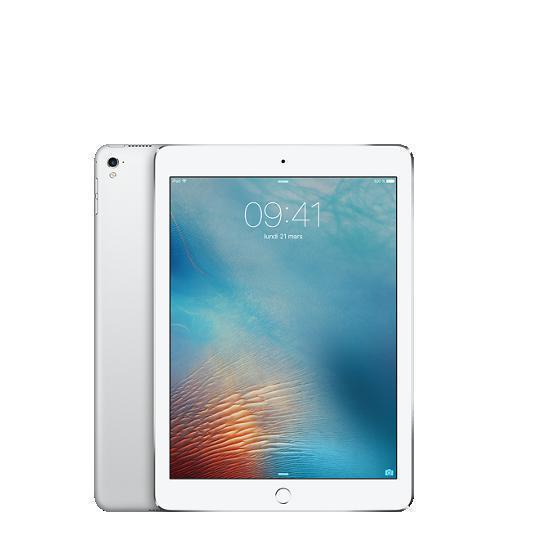 """iPad Pro 9,7"""" 128 Go - Wifi + 4G - Argent - Débloqué"""