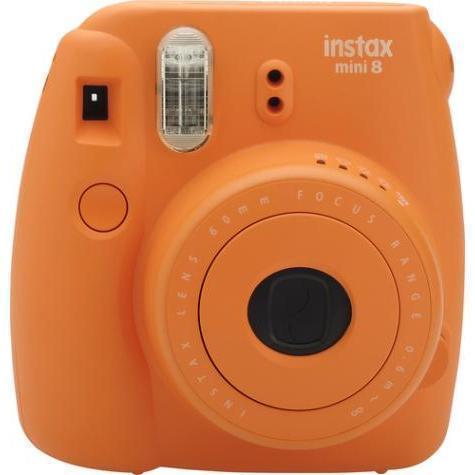Appareil photo argentique Fujifilm Instax Mini 8 Orange