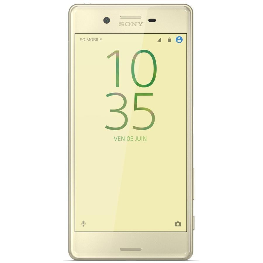 Sony Xperia X - 32 Go - Lime Gold - Libre
