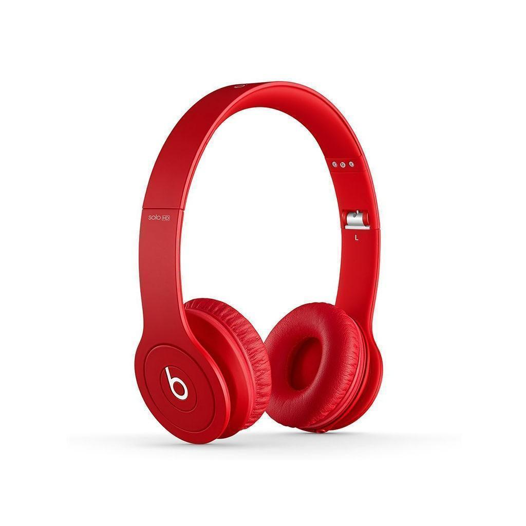 Casque Beats Solo HD - Rouge mate