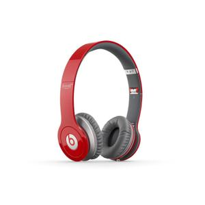 Casque avec Micro Beats By Dr. Dre Beats Solo HD - Rouge/Gris