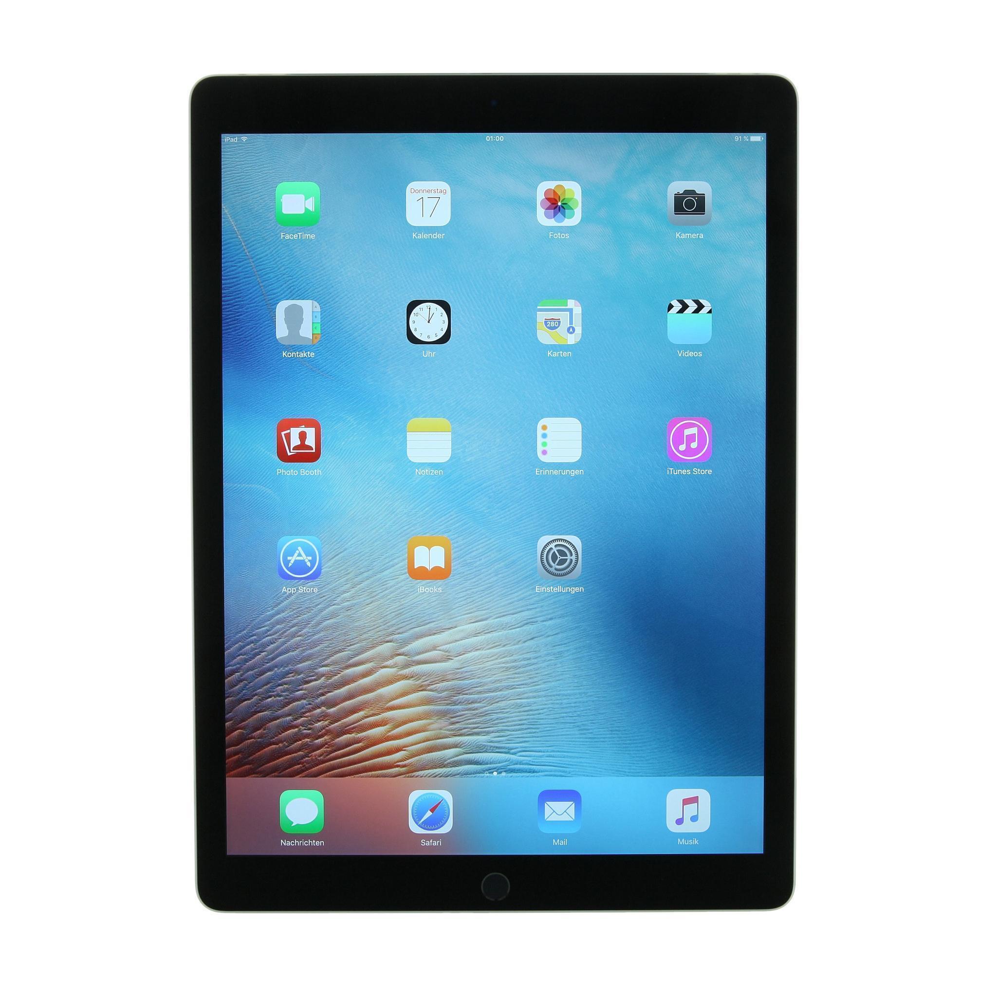 "iPad Pro 12,9"" 128GB - LTE + WLAN - Spacegrau - Ohne Vertrag"
