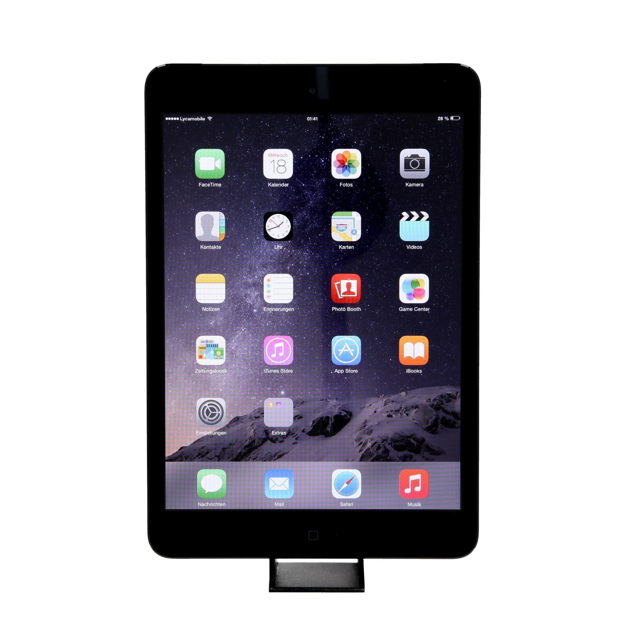 iPad Mini 16 GB - Wifi + 4G - Negro - Libre