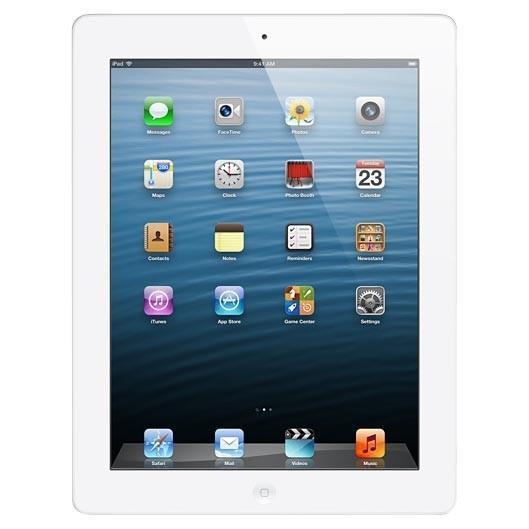 iPad 4 16 GB - Wifi + 4G - Blanco - Libre