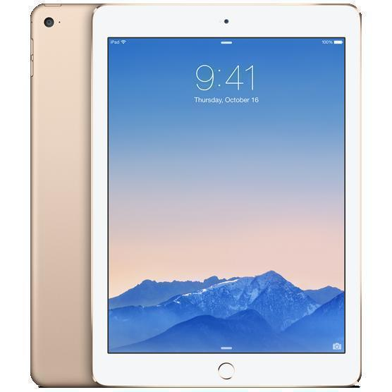 iPad Air 2 64GB - LTE + WLAN - Gold - Ohne Vertrag
