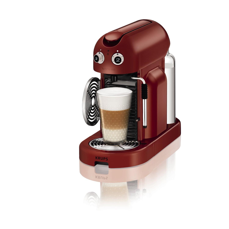 Krups - XN8006 - Machine à café Nespresso Maestria - Rouge