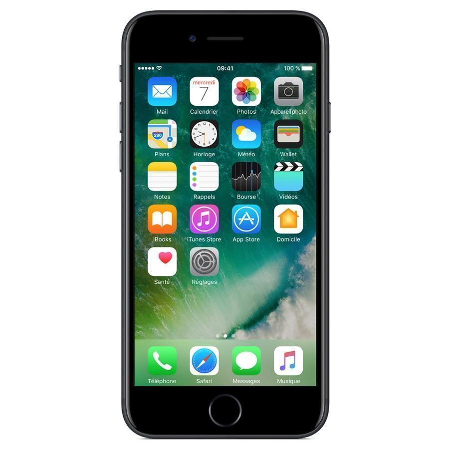 iPhone 7 256 Go - Noir de jais - Débloqué