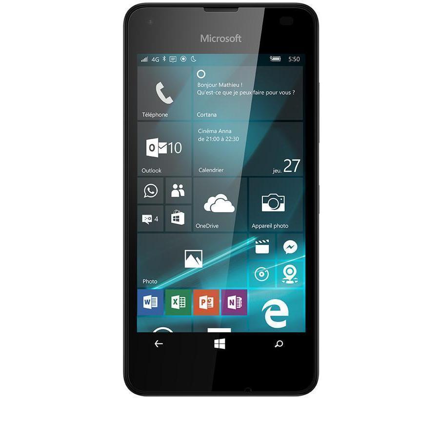 Nokia Lumia 550 8 Go - Noir - Débloqué