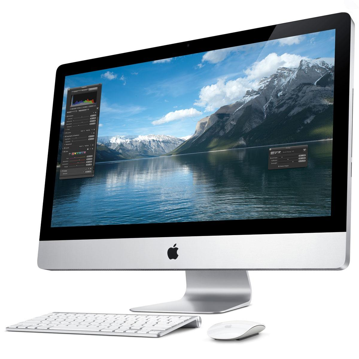 """iMac 27"""" Core i3 3.2 GHz  - HDD 1 To - RAM 4 Go - QWERTY"""