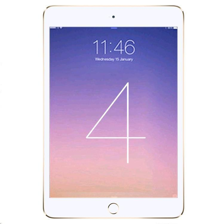 ipad mini 4 128 gb wlan lte gold ohne vertrag. Black Bedroom Furniture Sets. Home Design Ideas