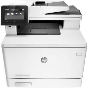Laserdrucker Farbe Drucker HP LaserJet Pro MFP M477FNW - Weiß
