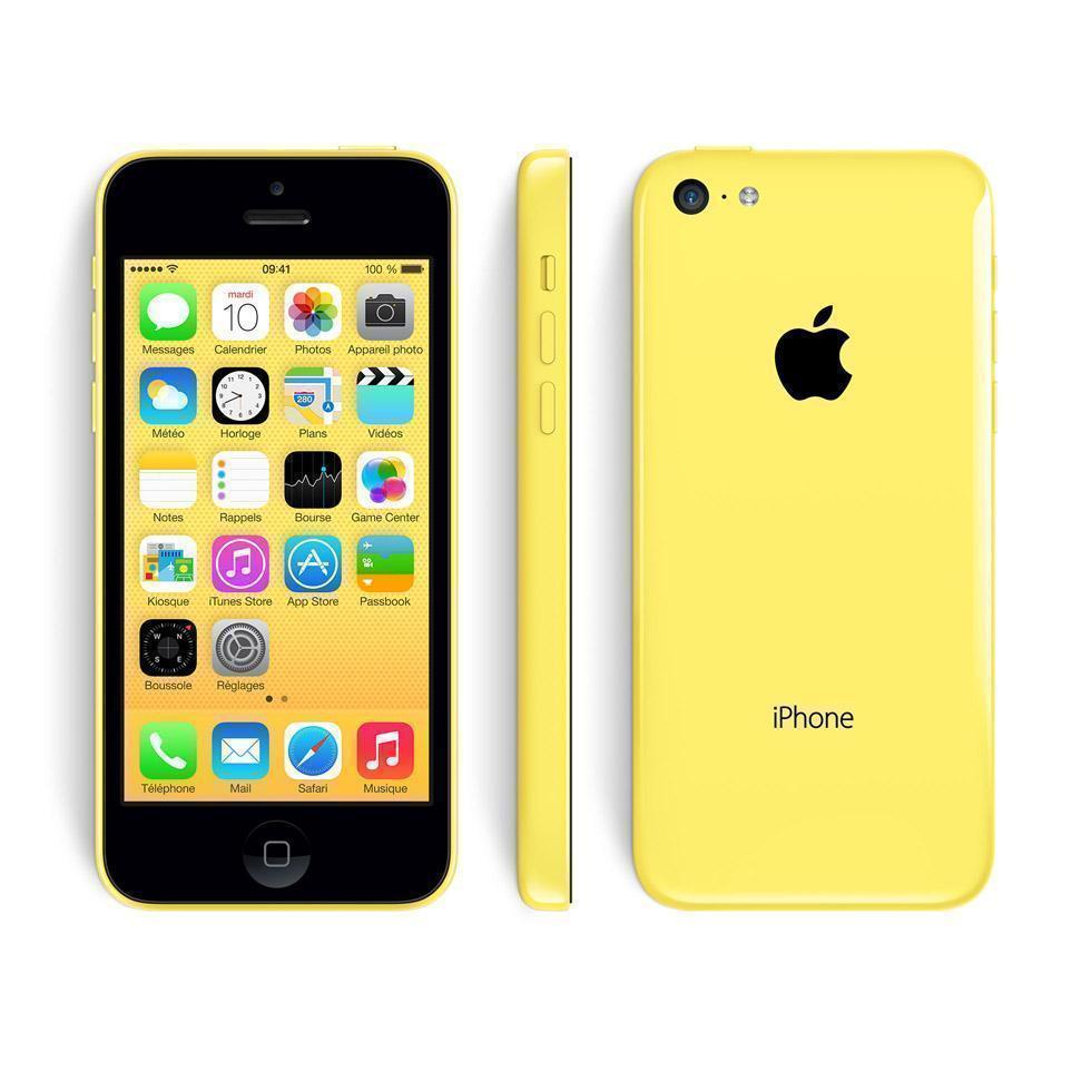 iPhone 5c 16GB - Gelb - Ohne Vertrag