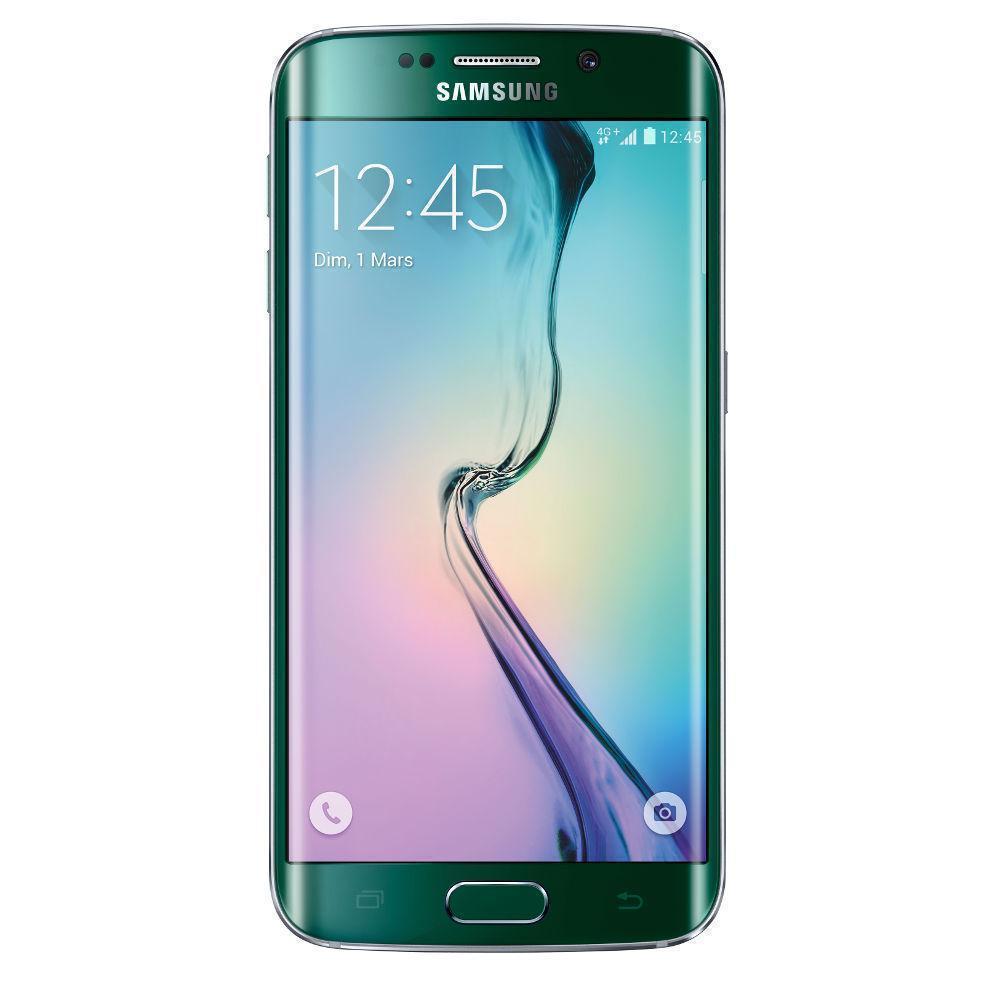 Samsung Galaxy S6 Edge 64 Go - verde - libre
